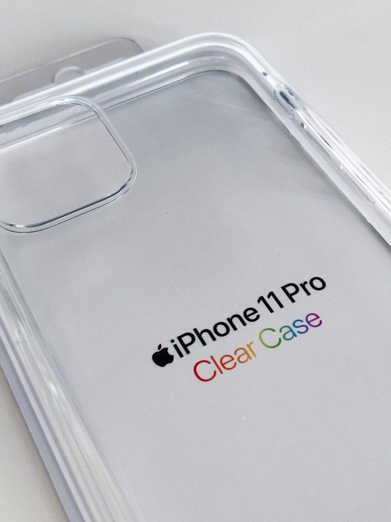 iPhone 11 Pro クリアケース パッケージ 表